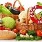 timbro haccp certified su immagine di frutta e verdura